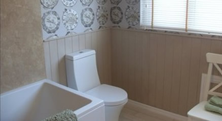 New photos in wall panelling experts rossendale for 60 minute makeover living room ideas