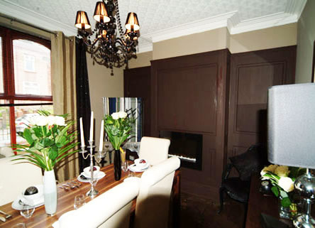 georgian dining room wall panelling itv1 60mm scott waldron london
