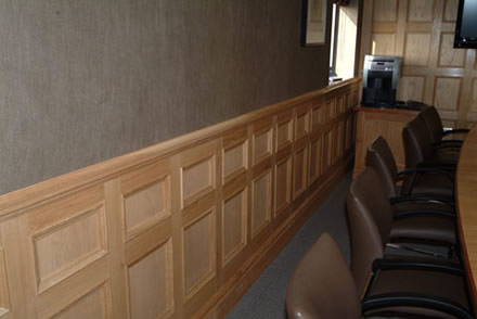 Wood Panelling For Walls By Wall Boardrooms Made In Teh Uk