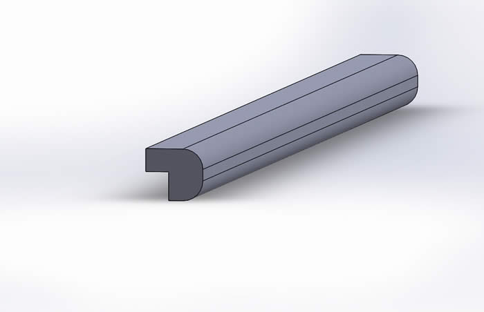 rebated bullnose top rail compliments tongue and groove or read and bead panelling perfectly