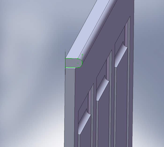how to fit top rail on top of read and bead and tongue and groove wall panelling