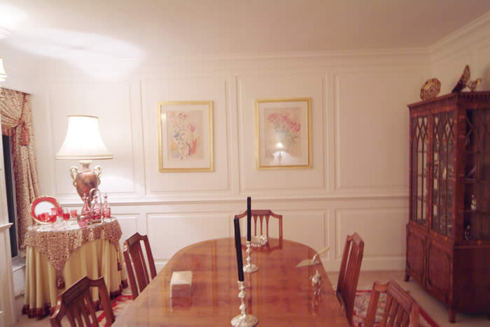 dining room wall panelling ramsbottom johnson made in the uk