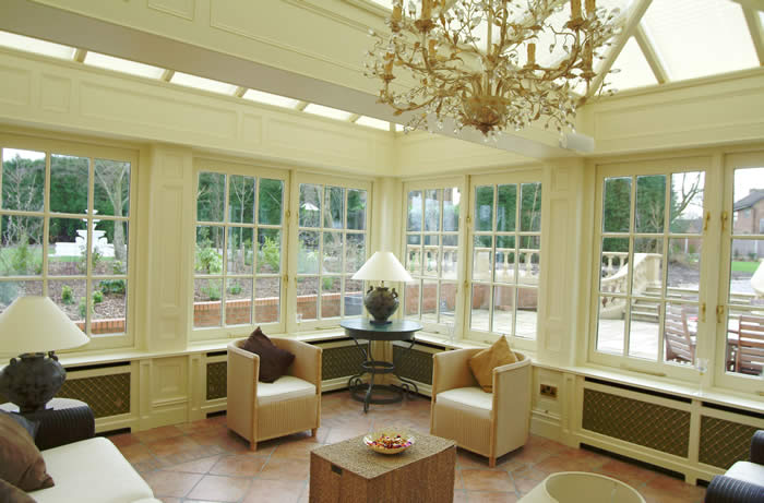 orangery wall panelling cheshire