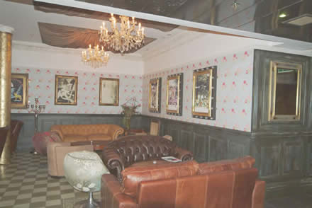 restaurant refurbishment the circle bar manchester wall paneling made in the uk by wall panelling experts
