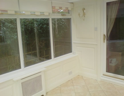 Conservatory Wall Panelling Interior Wall Panelling