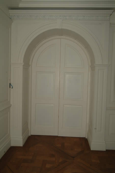 arched panelling