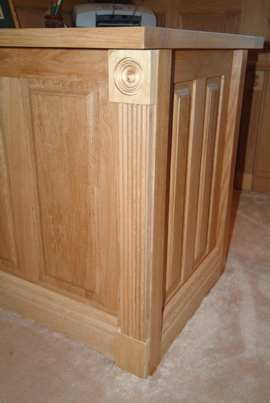 oak wall panelling cheshire, made in the uk