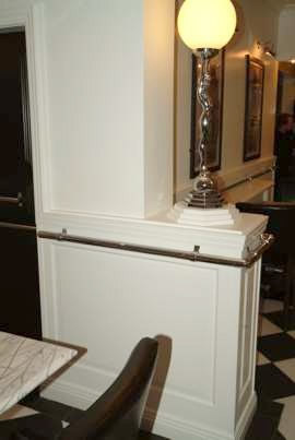 restaurant refurbishment the metro bar bury  wall paneling made in the uk by wall panelling experts