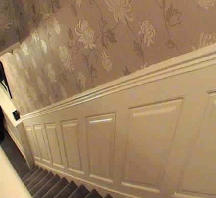 staircase wall panelling  ideas by wall paneling experts made in the uk