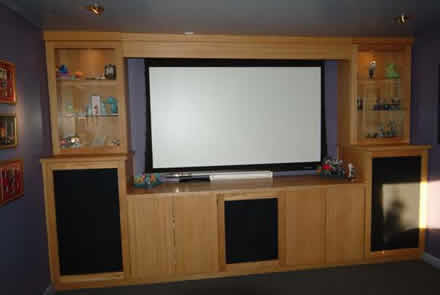 made to measure media surround by wall  panelling panelling for boardrooms made in the uk by wall panelling experts