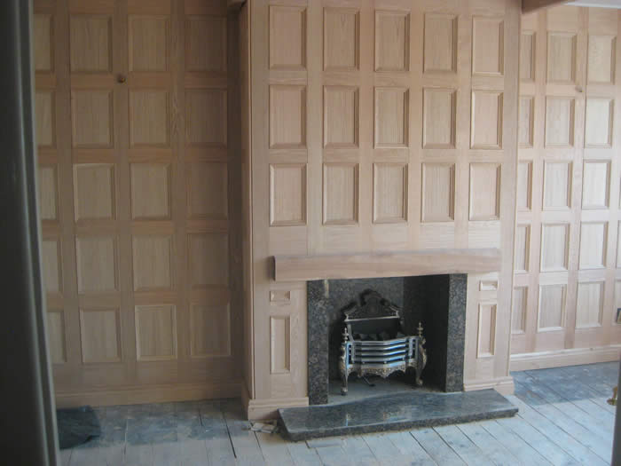 oak panelling by oak wall panelling experts