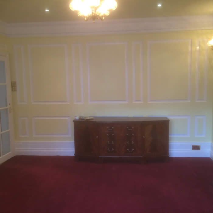 georgian wall panelling full height