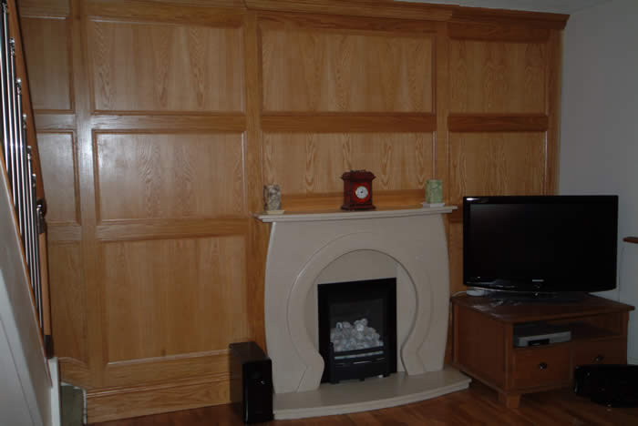 oak wall panelling for walls by wall panelling experts lancashire