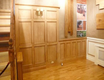 ideal home exhibition london by wall panelling experts oak wall panelling