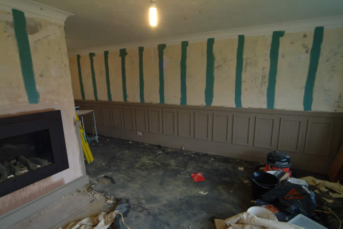 wall panelling  experts for sky TV and Ty Pennington homes for the brave