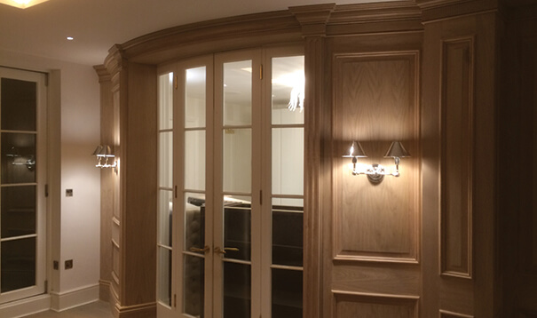 wooden wall panelling by wall panelling experts