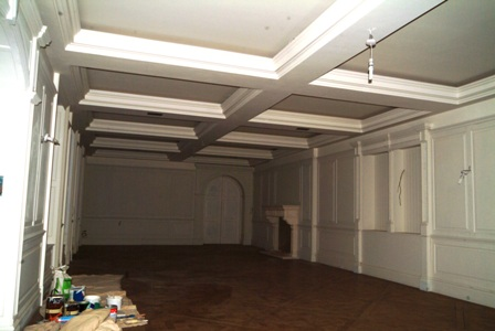 dining room wall panelling cheshire