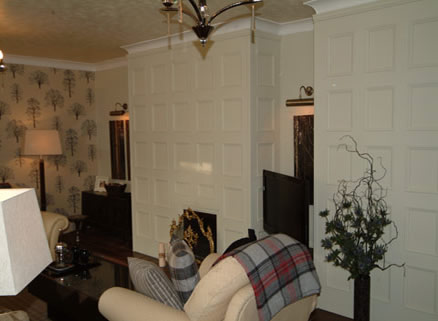 living room wall panelling itv1 60mm john amabile  made in the uk by wall panelling experts