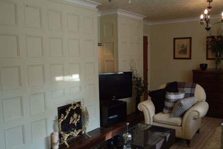living room wall panelling itv1 60mm john amabile britsh made