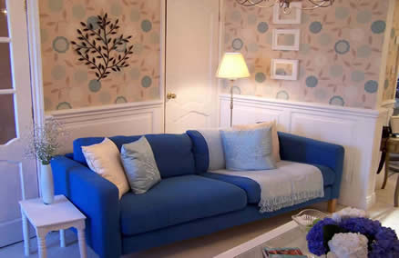 living room wall panelling itv1 60mm colin and justin wall panelling made in Great Britain by wall panelling experts