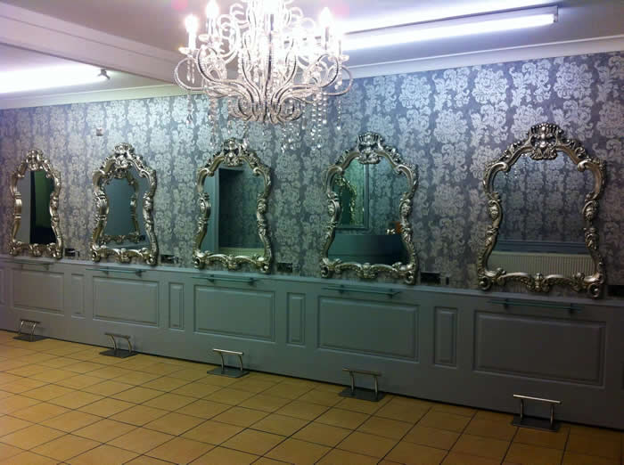 anita james hair swansea wall panelling makeover
