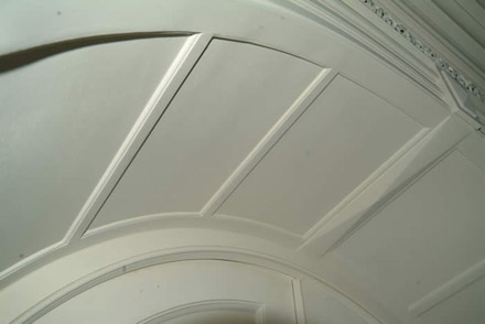 close up archway detail by wall panelling experts cheshire
