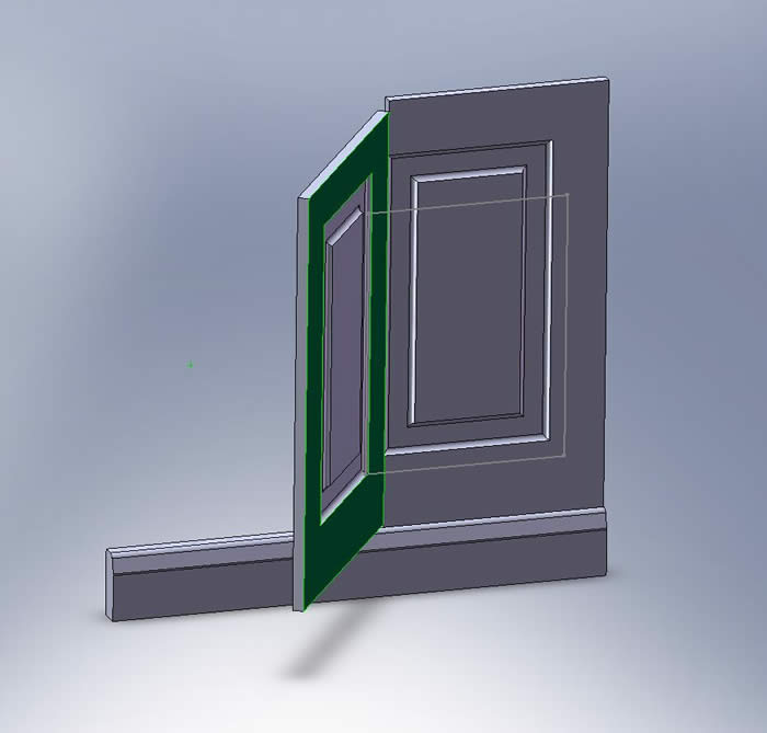 how to fit secret panelling doors