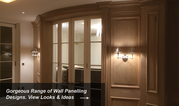 Oak Wall Panelling Designs