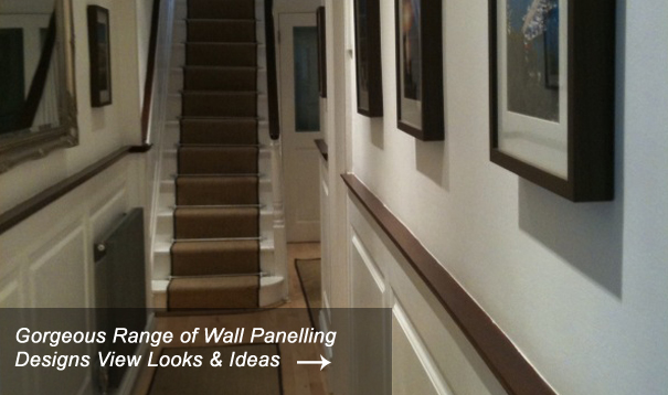 Entrance Hall & Stair Wall Panelling Designs