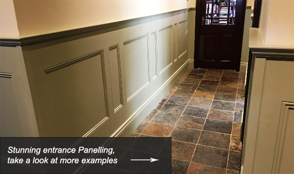 Entrance Hallway Wall Panelling Designs