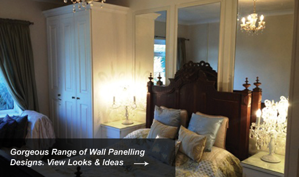 Mirrored Wall Panelling Designs