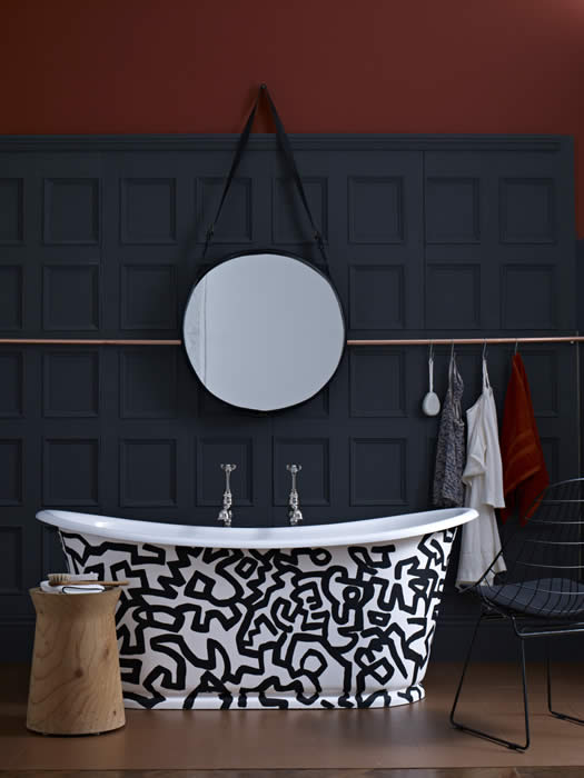 bathroom wall panelling by wall panelling featured in house and garden magazine
