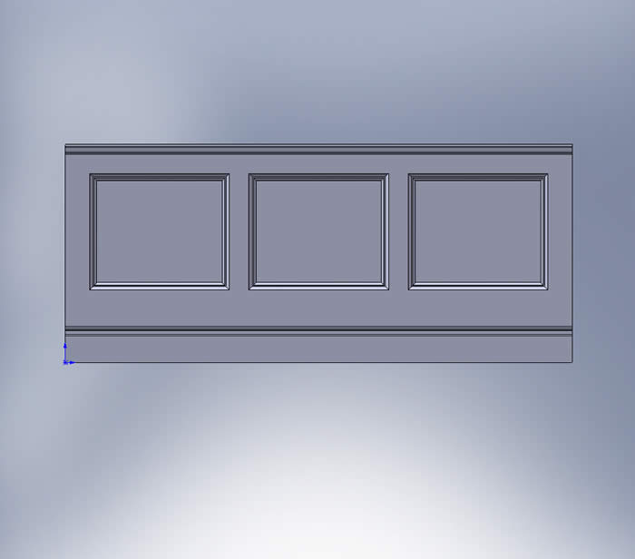 beaded wall panelling diagram by wall panelling experts