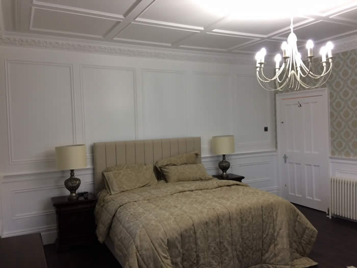 Bedroom Wall Panelling | French Wall Panelling | Wall Panelling ...
