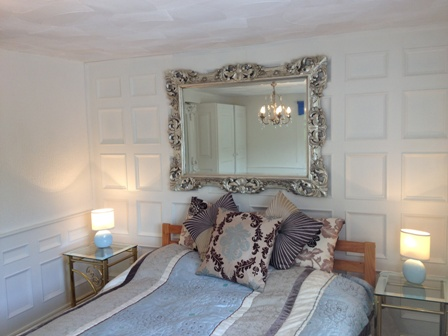 bedroom wall panelling designs the secret garden cottage south wales sykes cottages