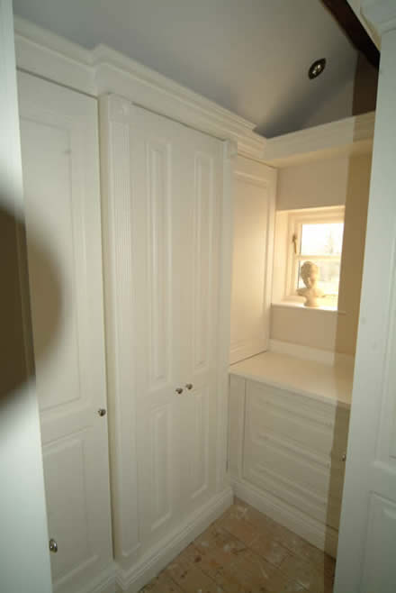 affordable bedroom wardrobes by wall panelling  for cheshire