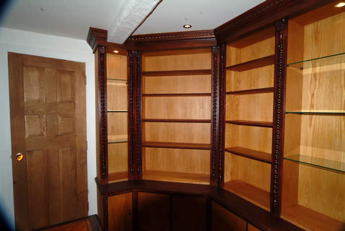 oak bookcase by wall panelling bookcases oak by wall panelling experts made in the uk mobberley hall cheshire