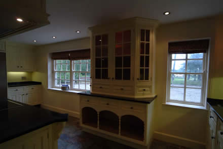 kitchen cabinet from wall panelling tld