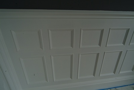 bathroom wall panelling