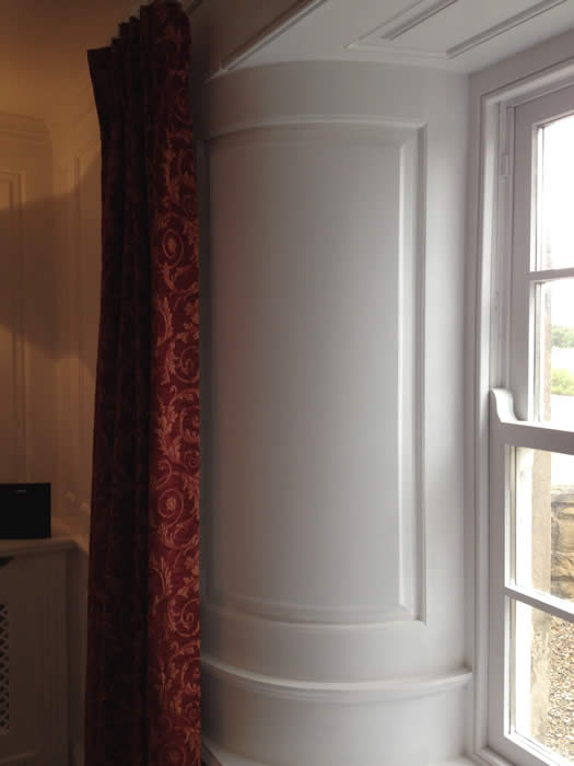 curved georgian Panelling by Wall Panelling Experts