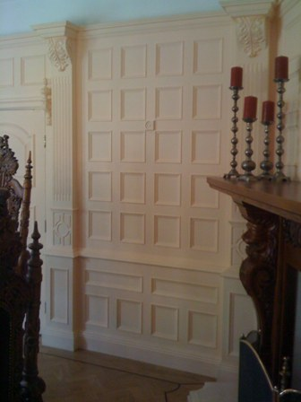 manchester united dining room  wall panelling from wall panelling experts deansgreen hall cheshire made in the uk