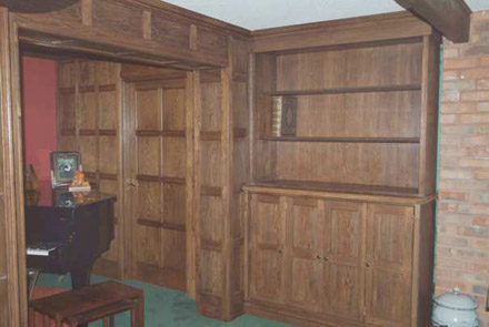 wood panelling for walls in living rooms by wall panelling experts cheshire
