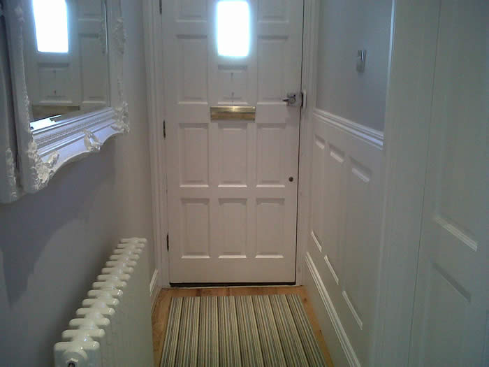 Ideas for small bathrooms makeover - Entrance Halls Wall Panelling Wall Panelling For Entrance