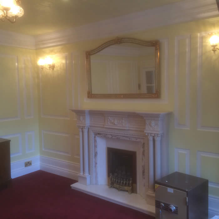 full height georgian apnelling by wall panelling experts