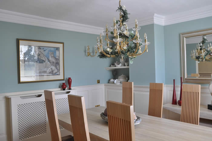 dining room wall panelling ideas by the wall panelling experts staffordshire mad ein theuk