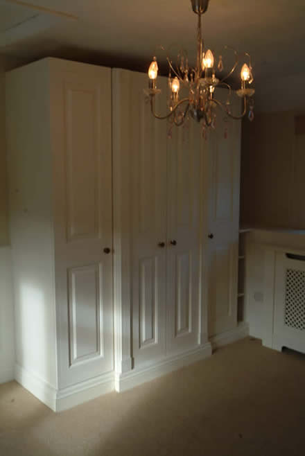 made to measure wardrobes by wall panelling the secret garden south wales sykes cottages