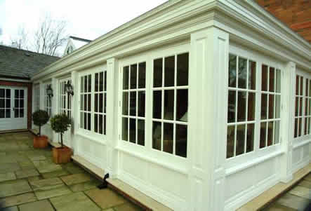 outside conservatory wall panelling cheshire british made