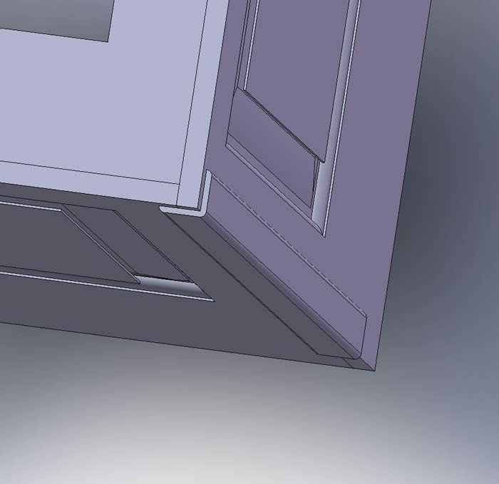 external corners how to fit with panelling