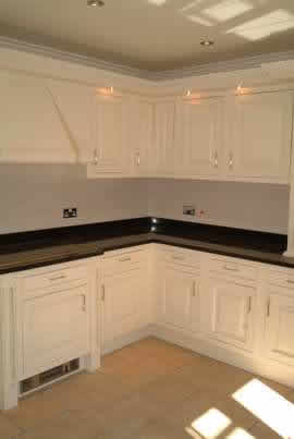 kitchen design ideas by wall panelling cheshire