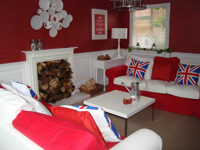 Living Room Wall Panelling Itv1 60mm John Amabile Made In The Uk By Experts